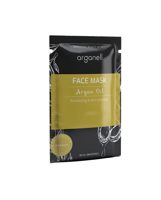 RENEWING BEAUTY MASK WITH ARGAN OIL